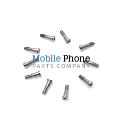 Apple iPhone 5S Bottom Screws White - 10 pc
